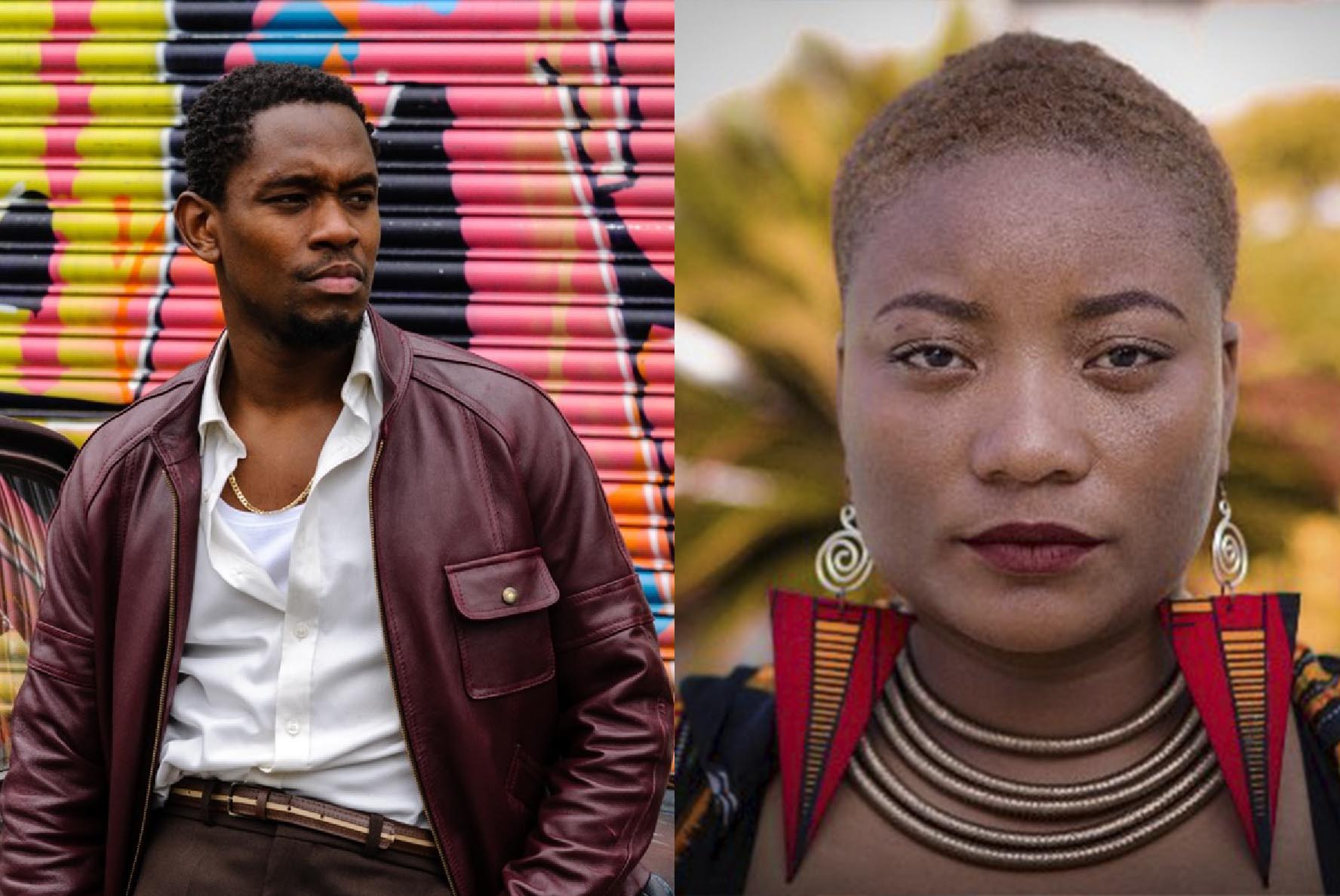 Hairouna Film Lab mentors, Aml Ameen and Michelle Serieux